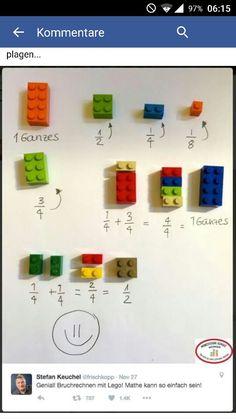 Lego Bruchrechnen