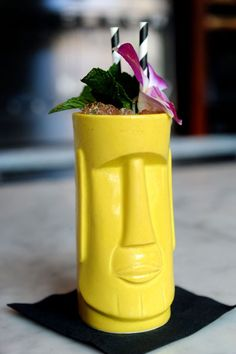 Tiki cocktail from Bar Congress