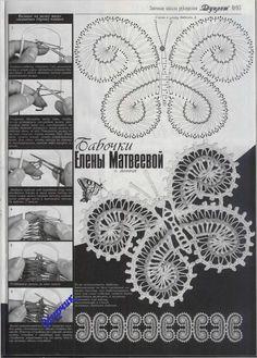 Knitting Crochet Irish Bruges Lace Patterns by RussianCrochetBooks, $6.99