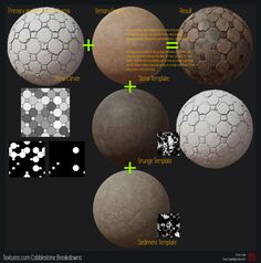 ArtStation - Textures.com Cobblestone Set Breakdown and Stone Carver Release, Evan Liaw