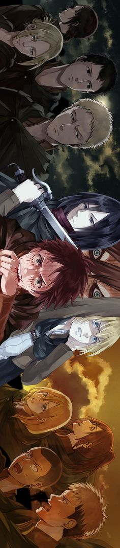 Characters - Attack on Titan / Shingeki no Kyojin