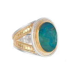 Anna Beck: Rings: Oval Cocktail Ring - Available in Two Stones