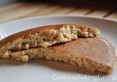Oats and Groats pancakes. Steel cut oatmeal and buckwheat groats are soaked overnight for these nutty and delicious pancakes. Also gluten free!