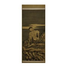 (12AA) A Chinese Painting of an Arhat n\A Chinese Painting of an Arhat H1890 W660mm / MAD on Collections - Browse and find over 10,000 categories of collectables from around the world - antiques, stamps, coins, memorabilia, art, bottles, jewellery, furniture, medals, toys and more at madoncollections.com. Free to view - Free to Register - Visit today. #DecorativeArts #Asian #MADonCollections #MADonC