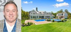 Willie Degel  #WillieDegel Location: Quiogue, New York This beautiful residence is the summer home of Willie Degel, host of reality television show Restaurant Stakeout on The Food Network. #celebrityhomes