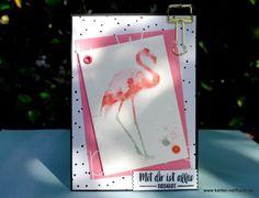 Flamingo Fantasie oder … ich jetzt auch! (?) – Karten VerRückt