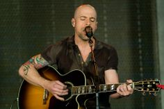 Chris Daughtry at the VMware Unplugged Event on the VMware Palo Alto Campus.