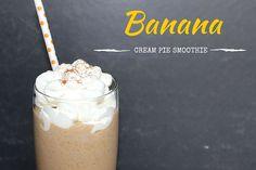 Banana Cream Pie Smoothie - My Cooking Spot