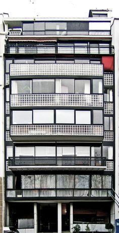 Porte Molitor - Le Corbusier