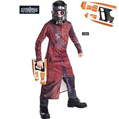 Classic Boys Premium Costume Kit Guardians of the Galaxy Star Lord Costume - Large @ niftywarehouse.com