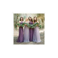 Pleated Evening Gown ($59) ❤ liked on Polyvore featuring dresses, gowns, women, pleated evening dress, pleated evening gown, cotton gowns, lavender gown and light purple dress