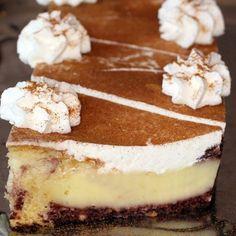 Egy finom Pudingos-tejfölös süti Sweet And Salty, Tiramisu, Food And Drink, Birthday Cake, Cooking, Ethnic Recipes, Cake Ideas, Cakes, Drinks