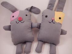 Al's Pals Bunny stuffed animals by CuteFluffinStitch on Etsy