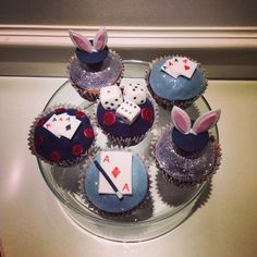 Magician cupcakes...really magic!