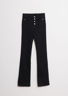 POCHES FLARE JEANS Flare, Trousers, Pants, Skinny Jeans, Legs, Chic, Fabric, Spain, Stuff To Buy