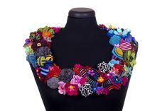 Fanciful Felt Jewellery by Danielle Gori-Montanelli