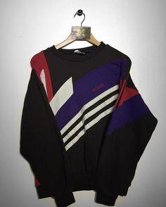 Adidas sweatshirt Size Medium £36 Website➡️ www.retroreflex.uk #adidas #trefoil #vintage #oldschool