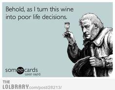 Ecard wine