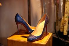 Katy Perry.  Shoes from #KP3D shoot.