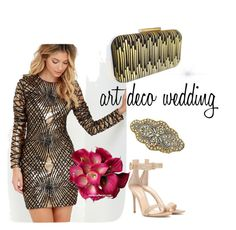 Deco Wedding by jaimevd on Polyvore featuring Lulu*s, Gianvito Rossi and artdeco