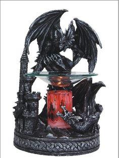 Black Dragon Poly Resin Warmer