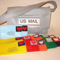 Mail and Mail Bag for your favorite little by missprettypretty, $29.00