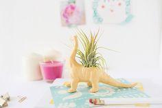 This DIY dino planter makes the perfect desk buddy.