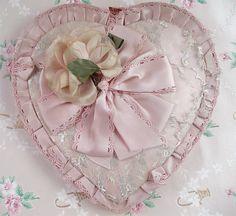 Shabby Vintage Valentine Chocolate Box by such pretty things, via Flickr