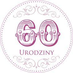 42. Cyferki urodzinowe II 50th Birthday, Happy Birthday, Digital Stamps, Card Templates, Cardmaking, Free Printables, Origami, Decoupage, Numbers