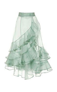 M'O Exclusive Mar Dulce Silk Organza Skirt/Jupon by Johanna Mode Unique, Silk Organza, Organza Dress, Trends 2018, Mode Inspiration, Fashion Details, Fashion Tips, High Fashion, Woman Fashion