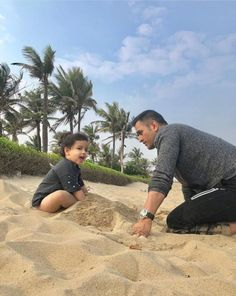 Image may contain: 2 people, sky, cloud, outdoor and nature History Of Cricket, World Cricket, Cricket Wallpapers, Sports Wallpapers, Ziva Dhoni, Dhoni Quotes, Test Cricket, Cricket Sport, Ms Dhoni Photos