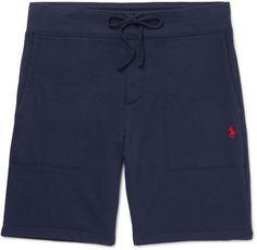 Polo Ralph Lauren Loopback Cotton-Blend Jersey Shorts � Men\u0027s ...