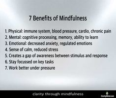 Helping leaders develop clarity through mindfulness training to be fully present, work smarter not harder for maximum business results. Benefits Of Mindfulness, Mindfulness Training, Reduce Stress, Chronic Pain, Immune System, Physics, No Response, Anxiety, Learning