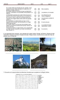 Regiones naturales de Colombia 3° Sierra Nevada, Natural, South America, Travel, Socialism, Geography, Coconut Rice, White Rice, Third Grade