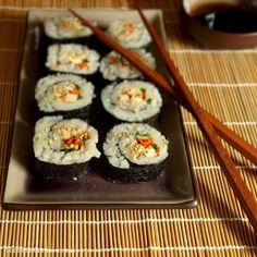 Connoisseurus Veg: Smoky Tofu Veggie Sushi