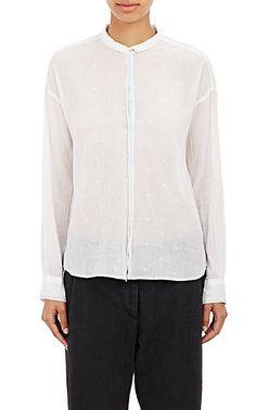 Pas de Calais Swiss Dot Gauze Shirt - Shirts - Barneys.com