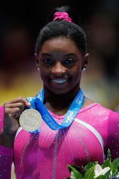 Simone Biles  2013 World Championship Gold Medalist (All Around & Floor Exercise)