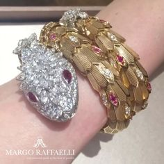 All we love @bulgariofficial Serpenti, don't we?  Credit: www.margoraffaelli.com