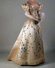 Evening dress 1895