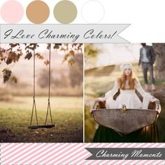 {charming moments}: i love charming colors. xo http://www.theperfectpalette.com/2011/07/colors-i-love-sweet-vintage-creative.html