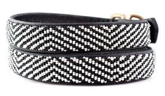 Kenyan Collection - Zebra Collar & Leash Collection available at www.ZoePetSupply.com