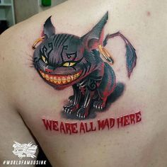 Haha we are all mad here !!! Rad piece from our Pro Team Artist @makskornev done using #worldfamousink   #tattoo #tattoos #tattooed #tattooart #tattoolife #tattooink #tattooartist #tattooist #bodyart #artist #ink #inked #inkedlife #inkstagram #inklife #amazingink #inkedup #veganink #tattoosofig #tattooartists #tatuaje #tatuaggio #tatouage #tatuaz #worldfamoustattooink #worldfamousforever #纹身