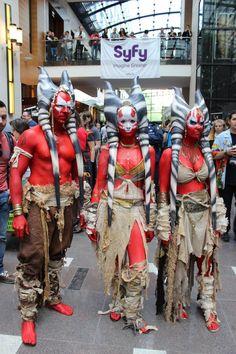 Pretty awesome Togruta cosplay