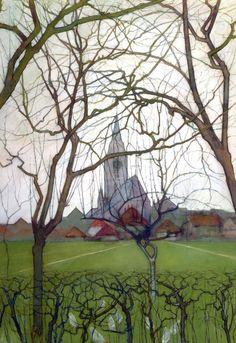 St. Jacob's church, Winterswijk, by Piet Mondriaan