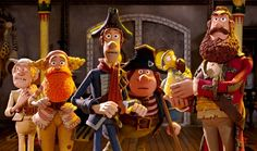 Aardman Pirates Band of Misfits