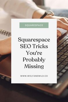 Want to rank #1 on Google? I've got 7 different tips and strategies that will help you optimize your Squarespace website and increase your search ranking! These SEO tips for Squarespace will work for all types of websites! Learn these little-known SEO secrets now. (You'd never guess #7!)    #squarespaceseo #seotricks #seotips #seoforsquarespace