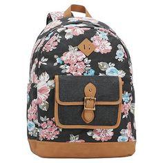 Northfield Bloom Burst Backpack, Black #pbteen