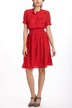 Crimson Social Dress - Anthropologie.com