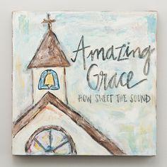 Glory Haus - Amazing Grace Chapel Canvas