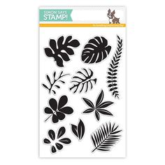 Simon Says Clear Stamps TROPICAL LEAVES SSS101620 Among The Stars
